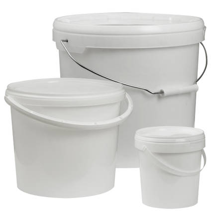 Plastic Resin Mixing Buckets